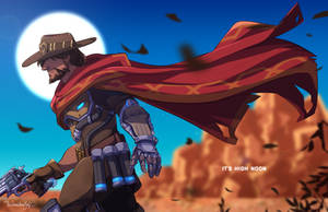 It's High Noon by TheDamn-ThinGuy