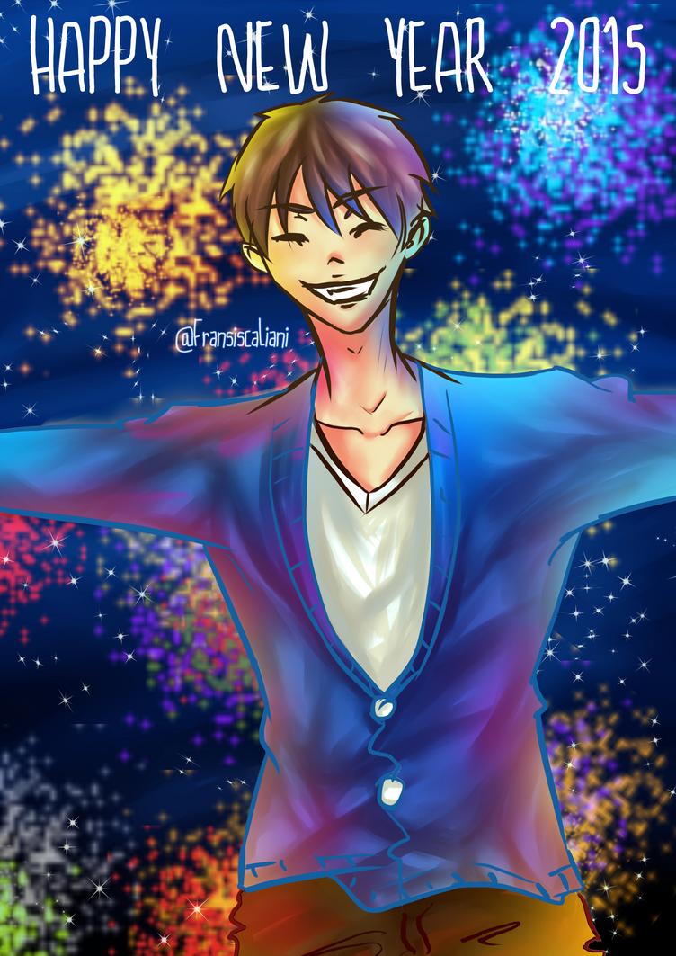 Happy New Year 2015! by devilCiel-Chan