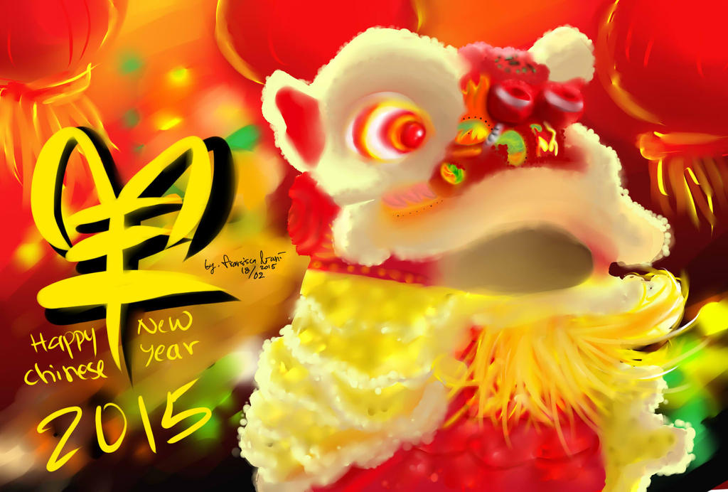 Happy Chinese New Year 2015! by devilCiel-Chan