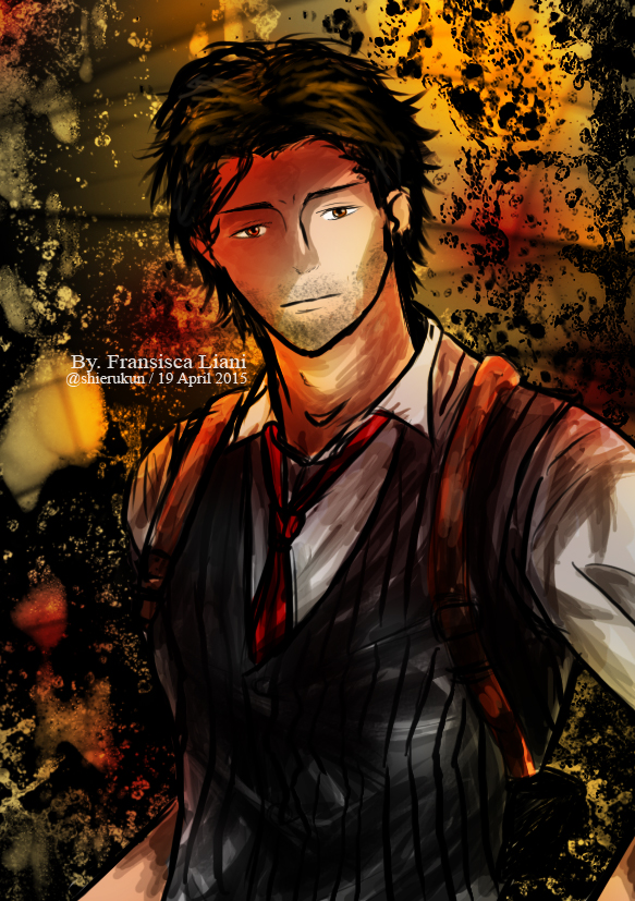 Sebastian Castellanos - The Evil Within by devilCiel-Chan