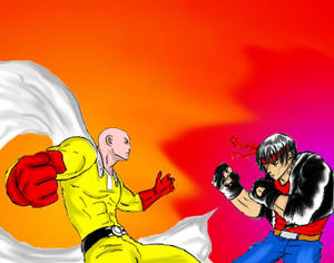 One Punch Man Vs Kung Fury