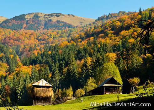 autumn in Maramures