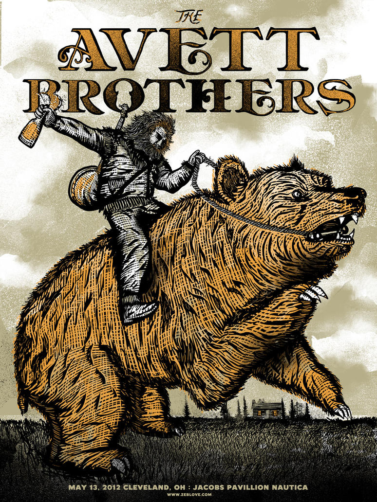 The Avett Brothers OH by xzebulonx