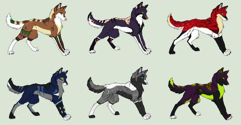 Wolf Adopts - OPEN by Sapphira-Page