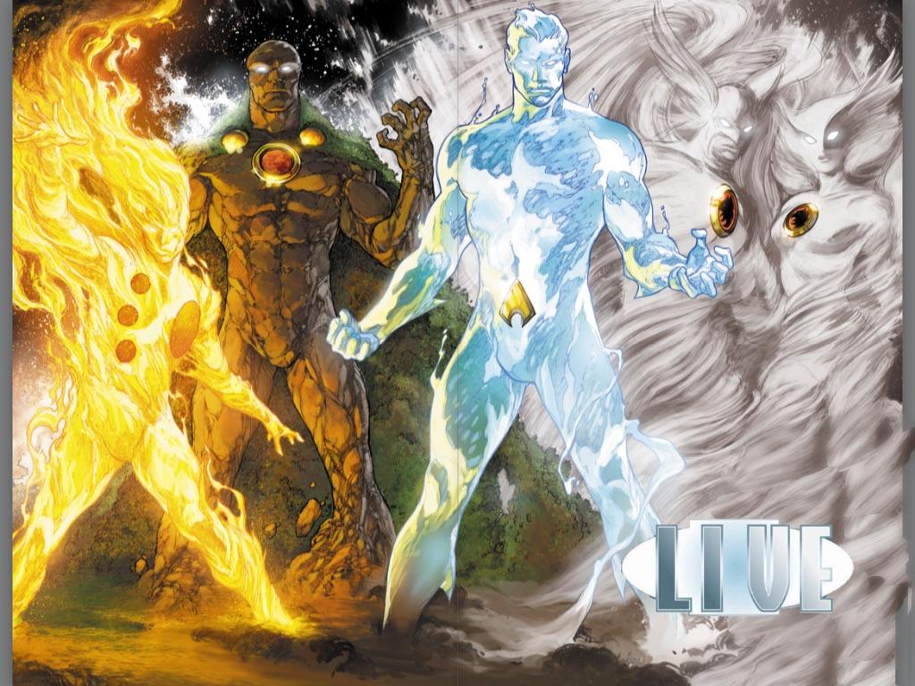 Four Elements Art : Dc four elements by pattyw99 on deviantart