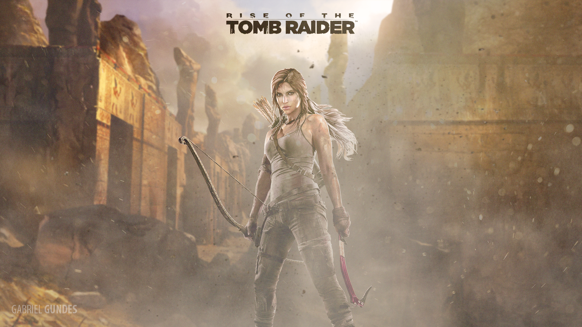 Rise Of The Tomb Raider Wallpaper 1920x1080 By Gabrielgundes