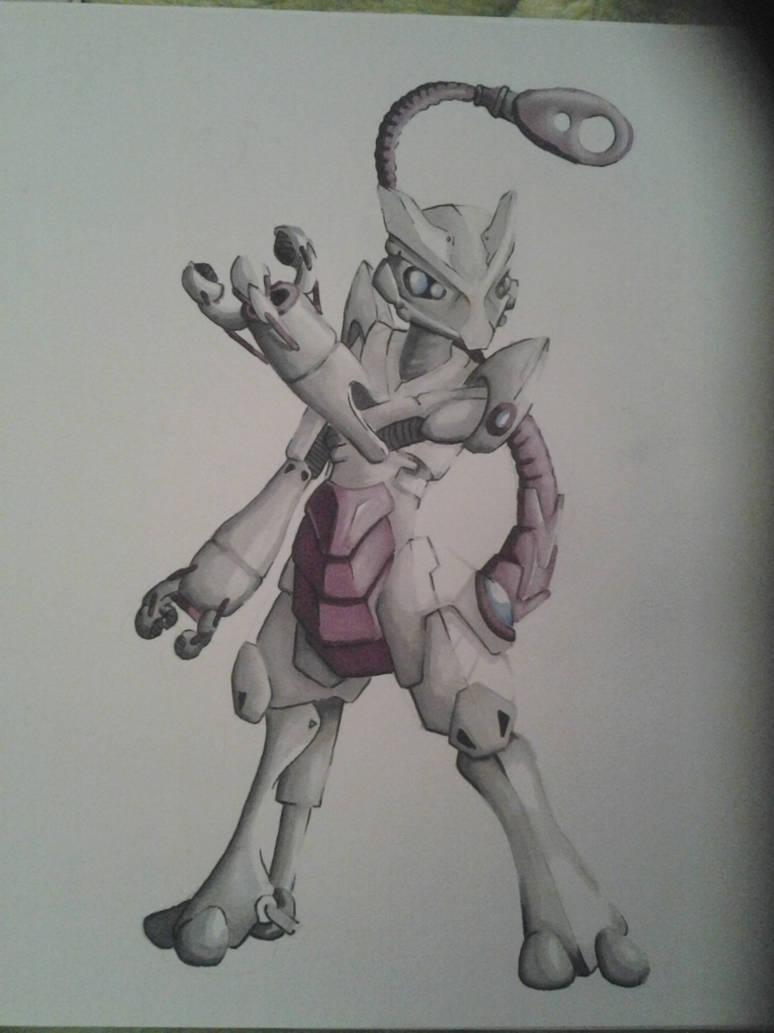 Robot Mewtwo