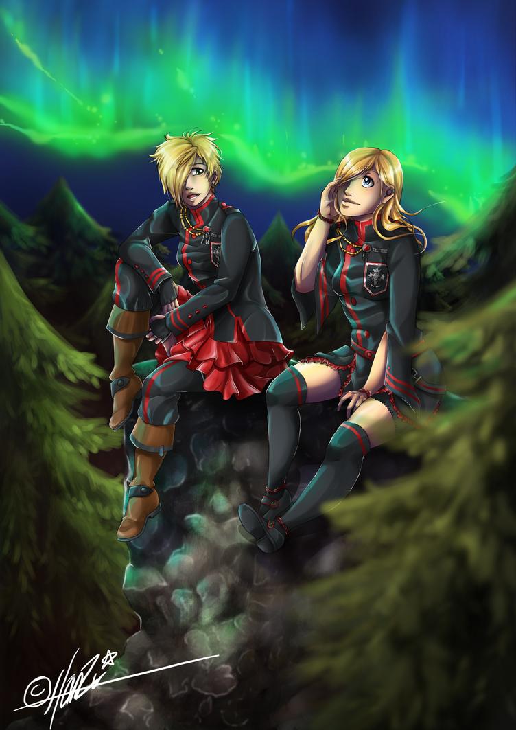 [DGM] Auroras by HanzuKing