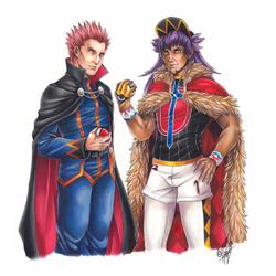 Lance and Leon