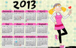 Hey Arnold! calendar 2013