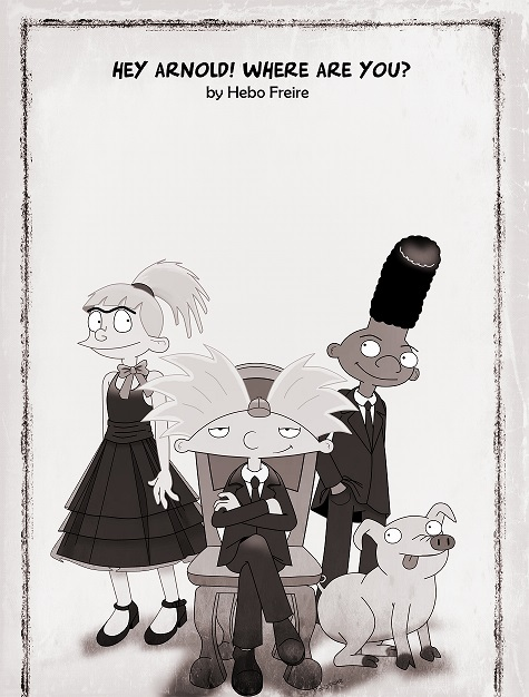 Hey Arnold! Where are you? 2014 by HeboFreire