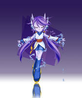 Freedom Planet2 'Sash Lilac' FAN ART by AnRock3