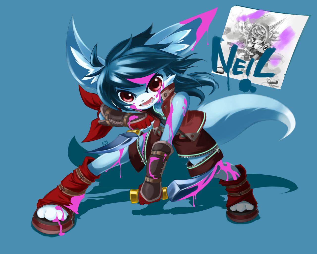 2006 Old Work Origin Character 'Neil' Rework by AnRock3