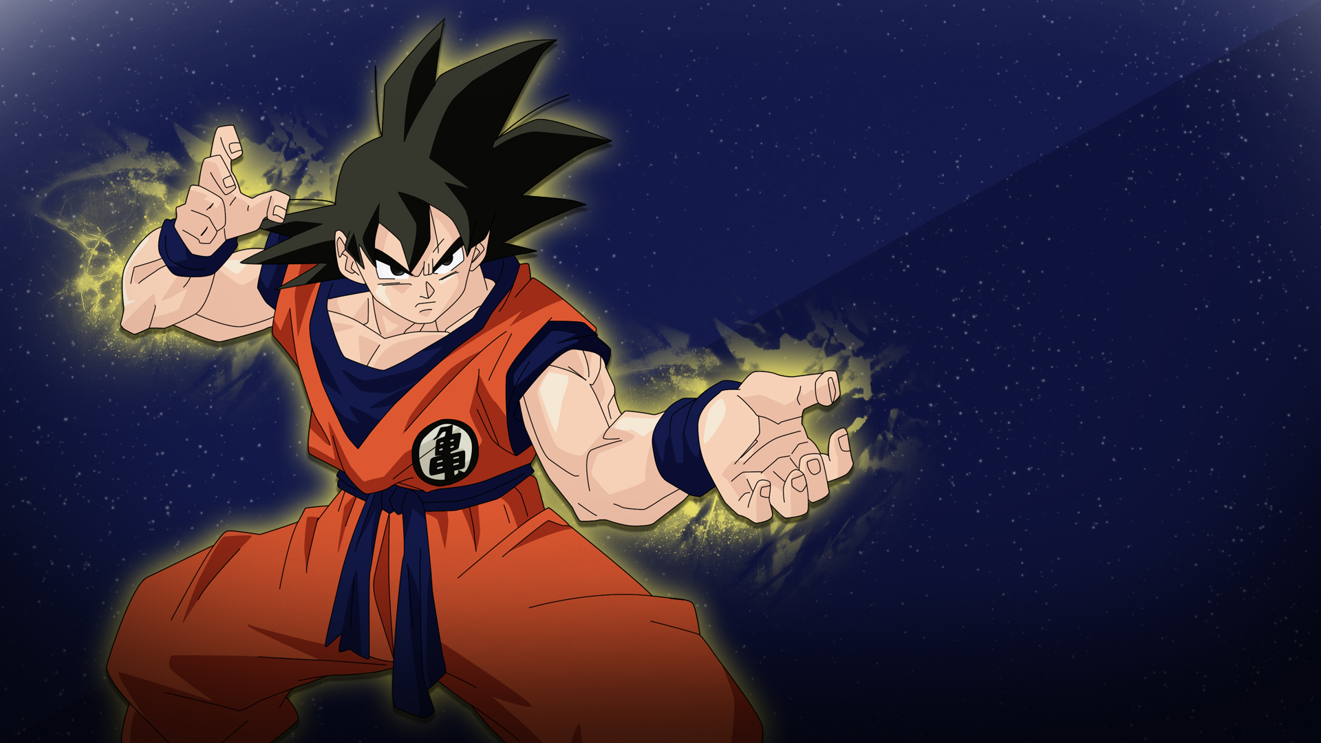 Goku Space Time Wallpaper 1080p By Ashesrising13 On Deviantart