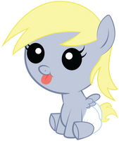 Baby Derpy by TickleBerryDude