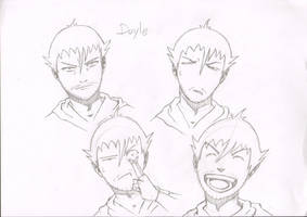 Doyle Character Desing