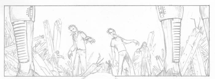 EXorcIsT ltd - Page 04 - Panel 01 - Pencil