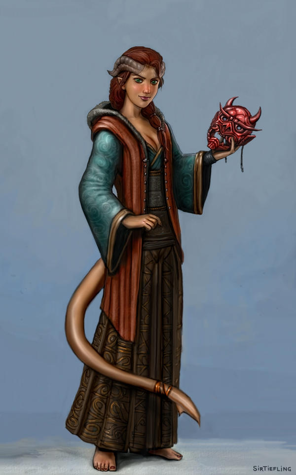 Bellari by sirtiefling by CheskaMouse
