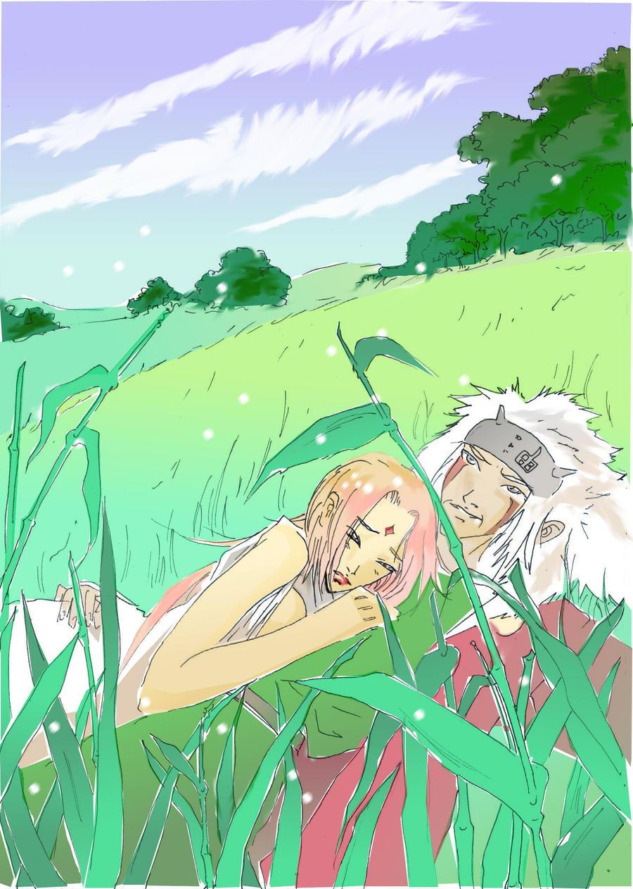 Цунаде и джирайя любовь 17 фотография