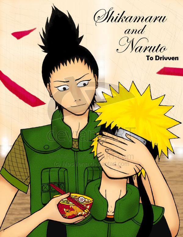 Shikamaru and Naruto by Shikamaru-x-Naruto on DeviantArt