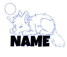 Sleepy Badge YCH AUTOBUY~!