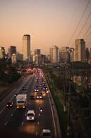 Sunset at Sao Paulo III by NaturesWatcher