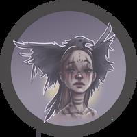 Inktober 2021 Day 5: Raven