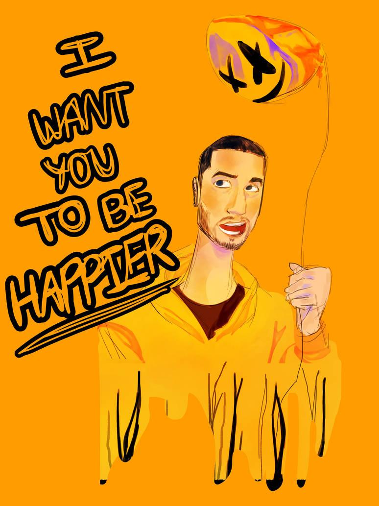 Happier by pinklasgne