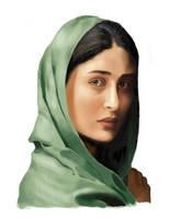 Kareena portrait by abhivg