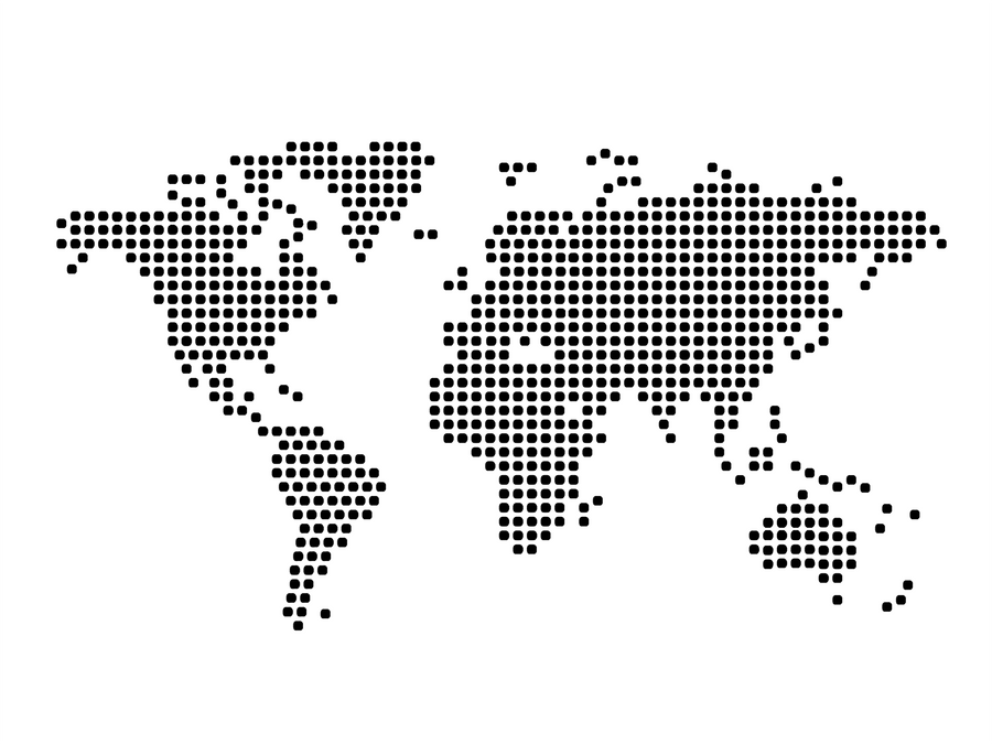 World Map Vector Stock By Zoneekap On Deviantart
