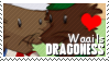 WaailsDragoness stamp by SexyDragoness101