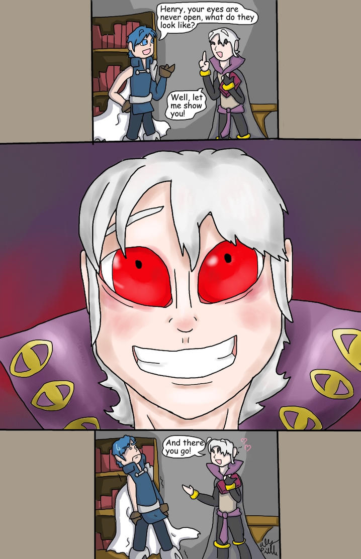 EYE see what you did there... by ShadowCatGamer on DeviantArt