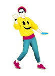 Happy PNG - Just Dance 2015