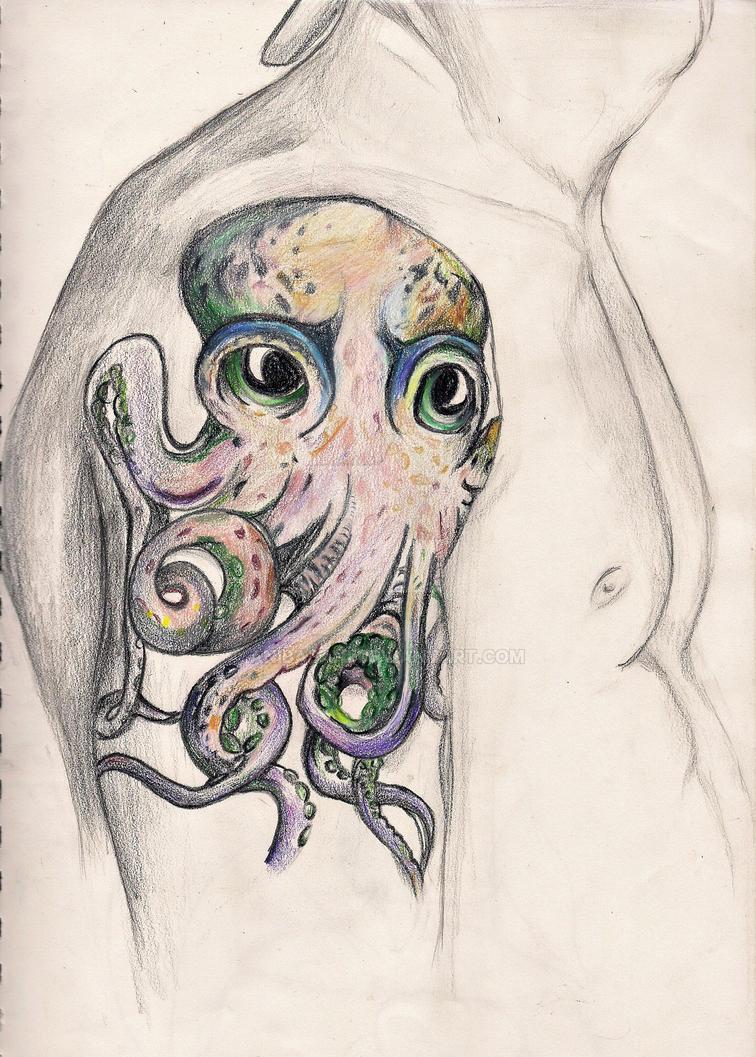 John Frusciante Octopus Tattoo by anibabani on DeviantArt