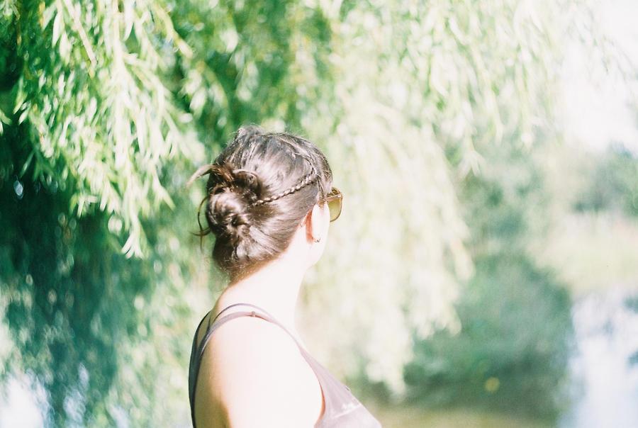 Beneath your tree. by MeninaLua