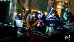 Girls Night In by SFMDownUnder1