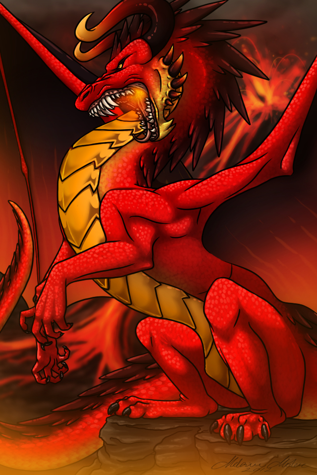 The Red Dragon's Lair by Neara-works