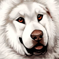 Tibetan Mastiff by Neara-works