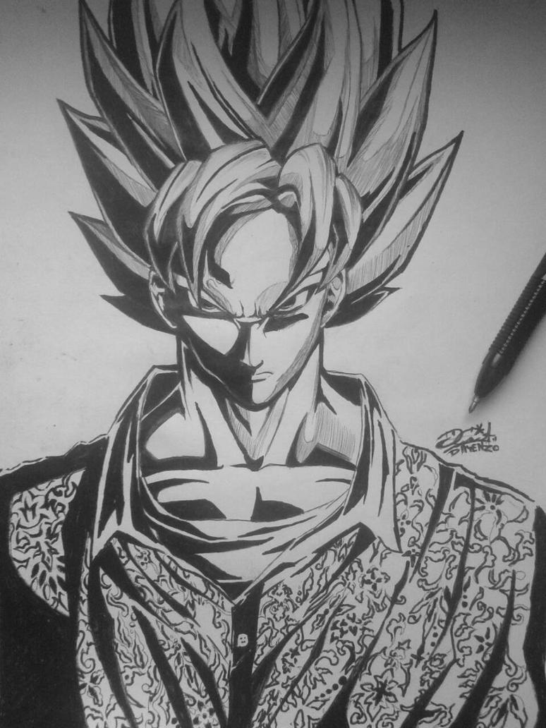 Goku Batik Indonesia by dayenz007