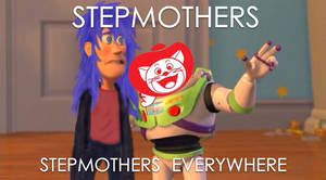 Stepmothers, stepmothers everywhere.