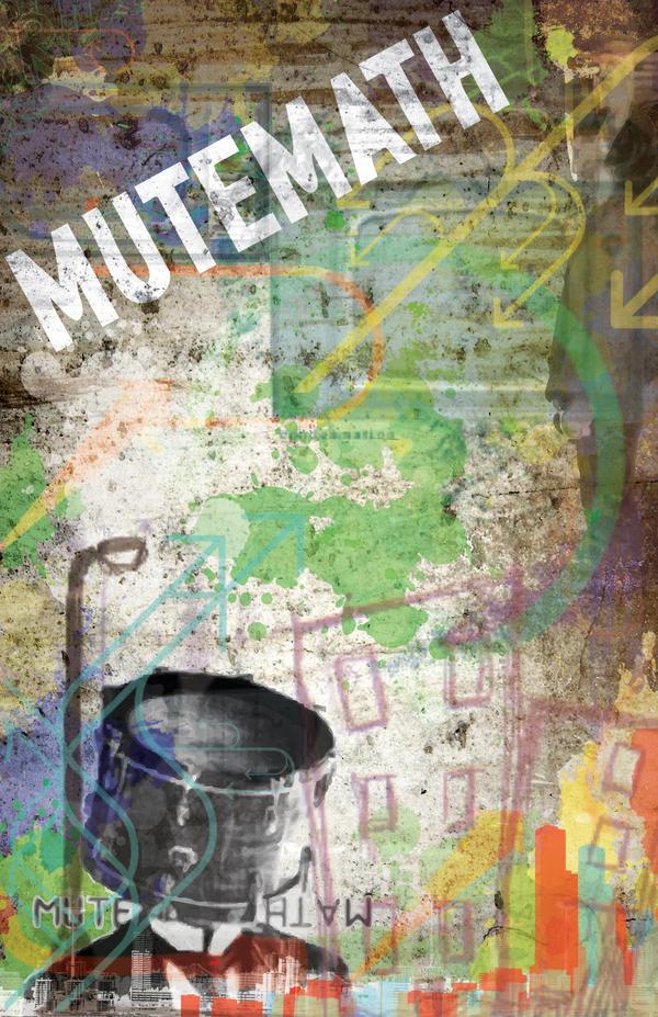 Mutemath Poster by Melloleaf
