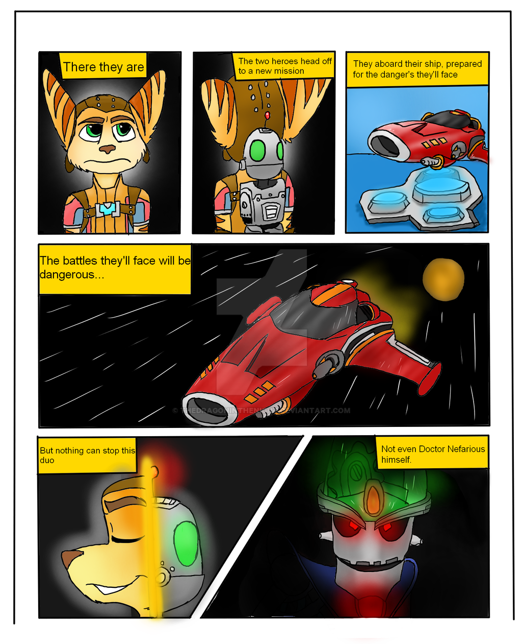 ratchet and clank comic pdf
