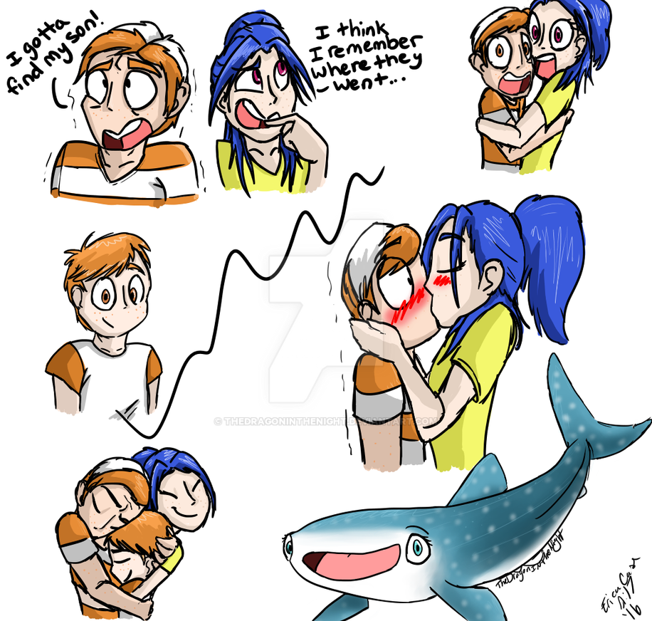 dory and marlin relationship problems