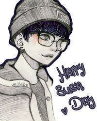 Happy Suga Day by muffin-cat