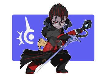 Final Fantasy 14 Chibi commission