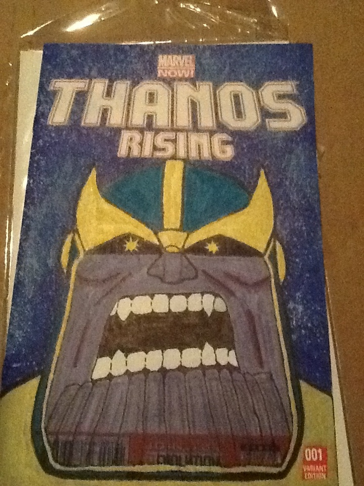 Thanos the Titan finished by elguluso