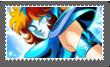 Stamp Saint Seiya Marin De Aguila by Bluerathy-S