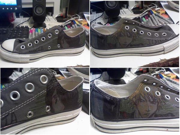 Converse Shoe Art by AMTwister