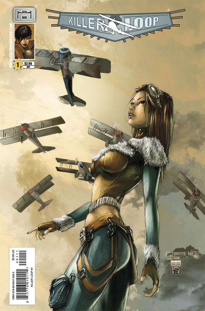 KILLER LOOP 1 COVER B by GGSTUDIO