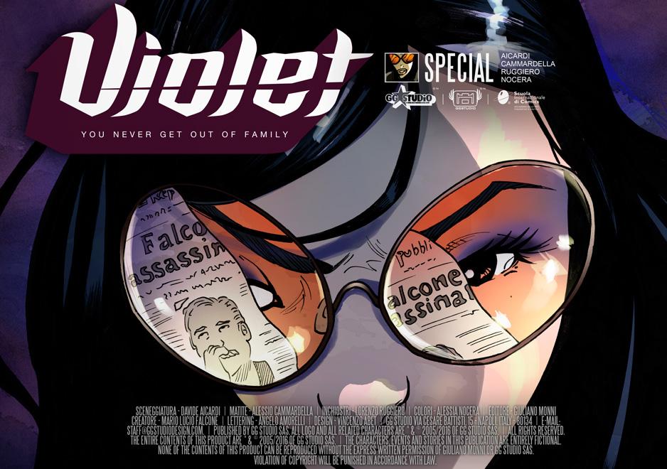 Violet#-SPECIAL GIOVANNI FALCONE2016///COVER by GGSTUDIO